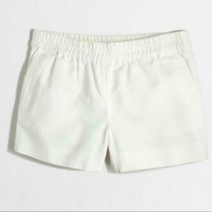"""Jcrew Ivory Boardwalk Shorts 3"""""""
